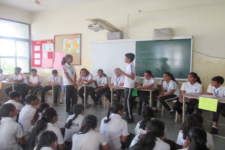 Vrajbhoomi International School-Debate Competition