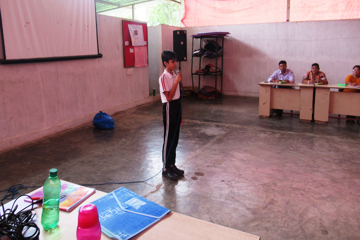Vrajbhoomi International School-Extempore Competition