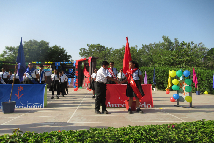Vrajbhoomi International School-Investitiure Ceremony