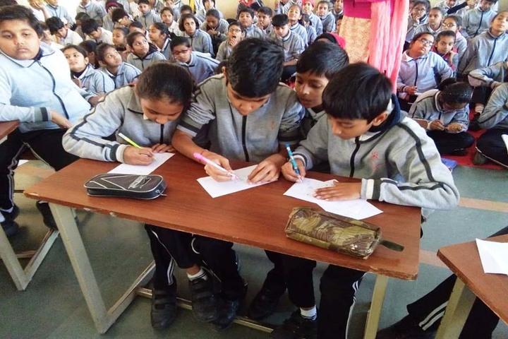 Vrajbhoomi International School-Maths Quiz