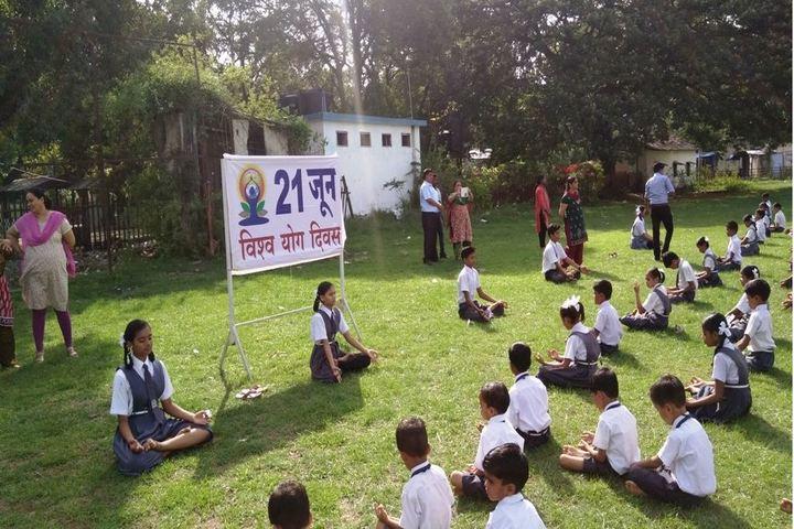 Railway Secondary School-Yoga Activity