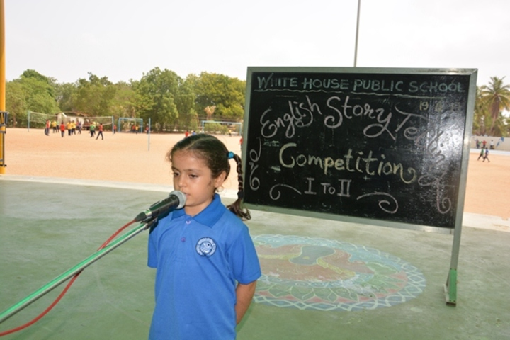 White House Public School-Story Telling Competition