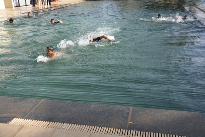White House Public School-Swimming Activity