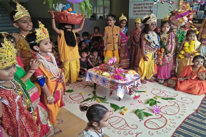 Yagyavalkya Vidya Mandir English Medium School-Krishnastami Celebrations