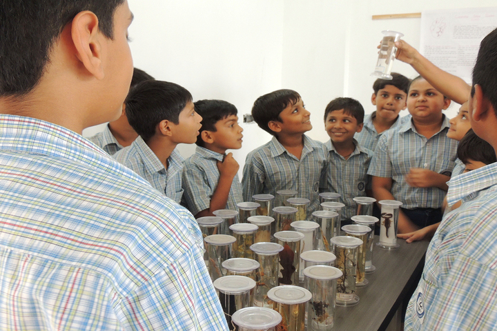 Zebar School For Children-Biology Lab