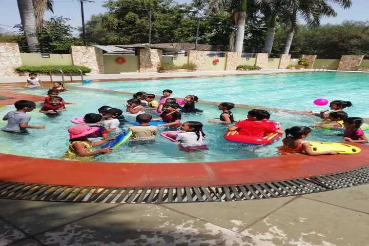 Zen School-Pool Party
