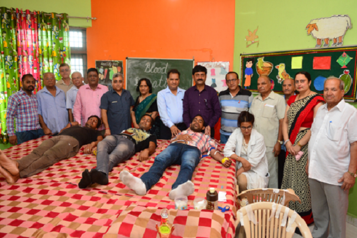 Anil Kumar DAV Public School-Blood Donation Camp