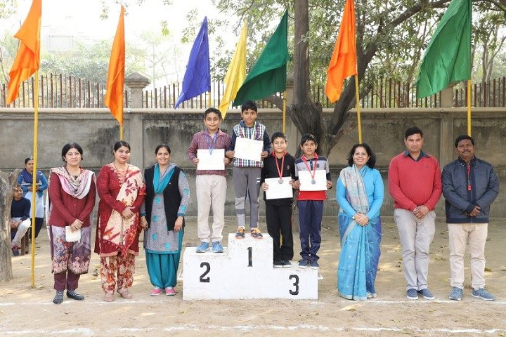 Anil Kumar DAV Public School-Sports Winner