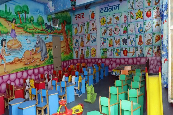 A P Garg Public School-LKG Classroom