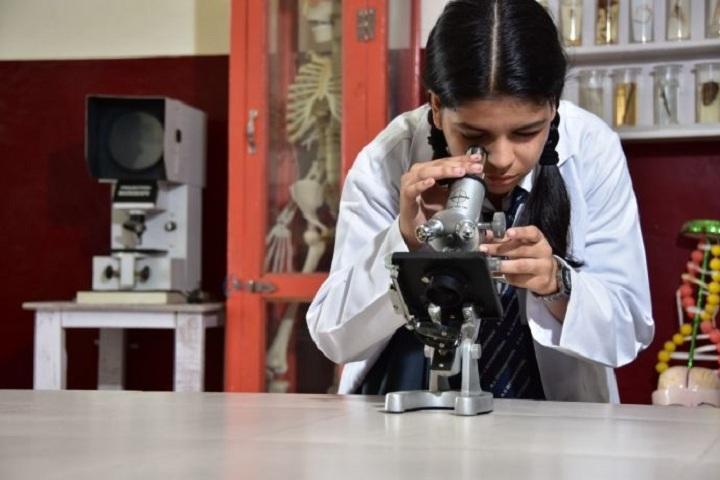A V International Public School-Biology Lab