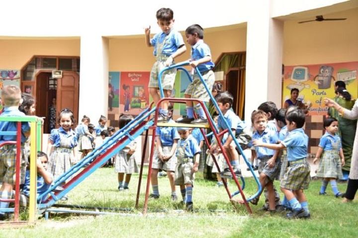 A V International Public School-Play Area