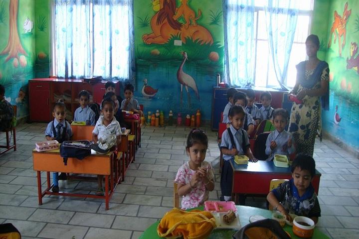 A V Vidyamandir-Classroom