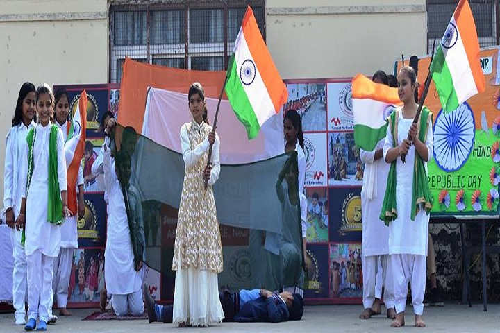 A V Vidyamandir-National day celebration