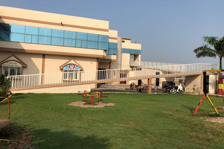 A XavierS International School-Parking area