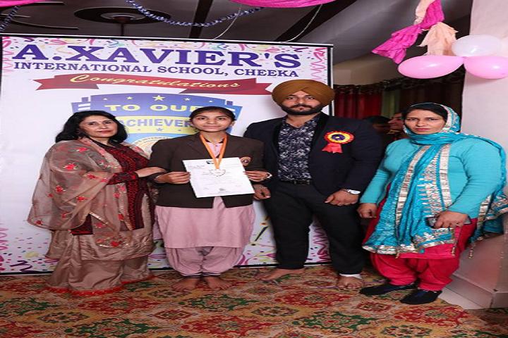 A XavierS International School-Presentation party