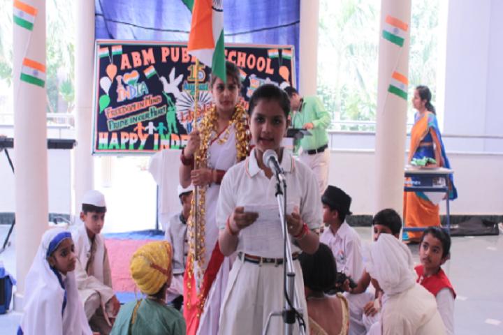 A B M Public School-National day celebration