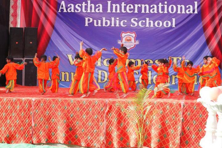 Aastha International Public School-Dance