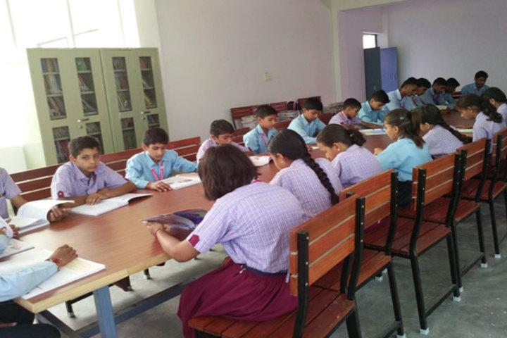 Aastha International Public School-Library