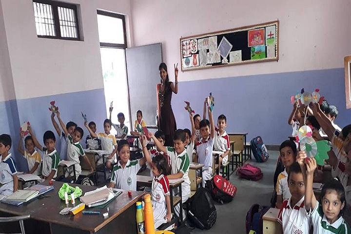 Adarsh Public School Charkhi Dadri-Classroom