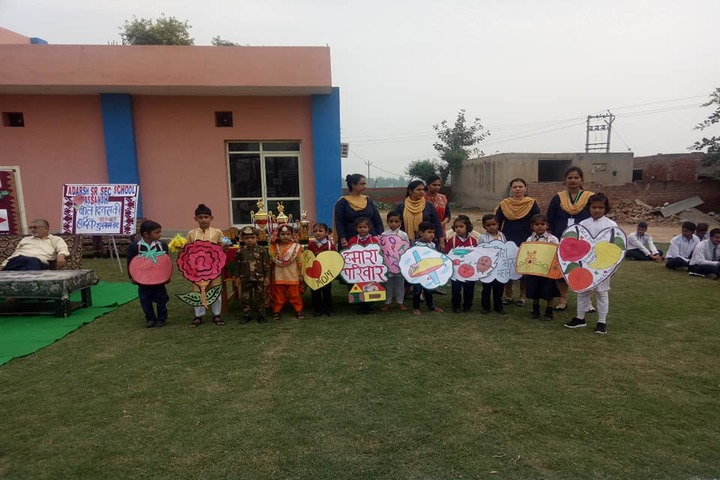 Adarsh Senior Secondary School-Fancy Dress