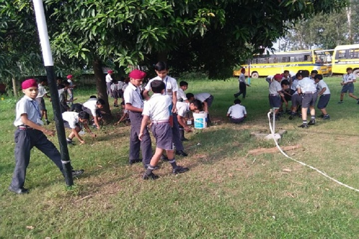 Adarsh Senior Secondary School-Cleaning Activity