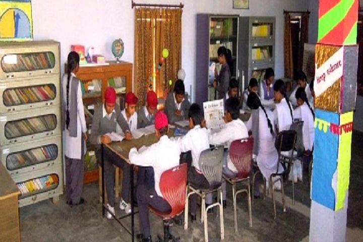 Adarsh Senior Secondary School-Library