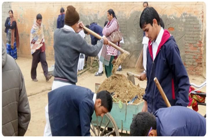 Adarsh Senior Secondary School-Campaing of NSS