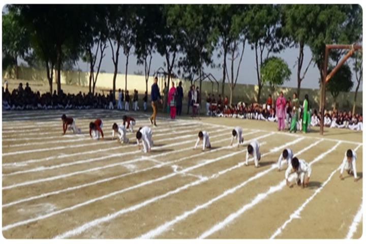 Adarsh Senior Secondary School-Kinergarten Sports Day