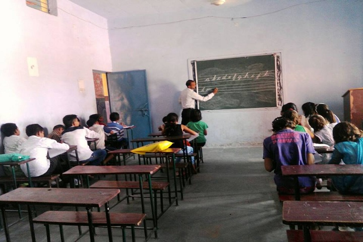 Adarsh Senior Secondary School Dadanpur-Classroom