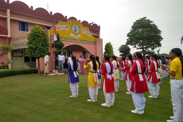 Adarsh Senior Secondary School Dadanpur-National day celebration
