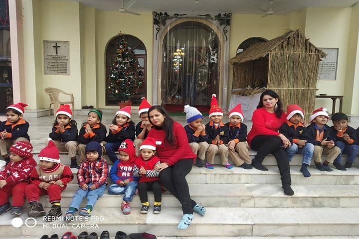 Adarsh Vidya Niketan Sr Sec School-Christmas celebration