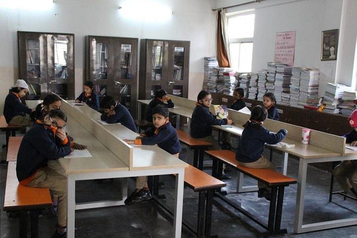 Adarsh Vidya Niketan Sr Sec School-Library