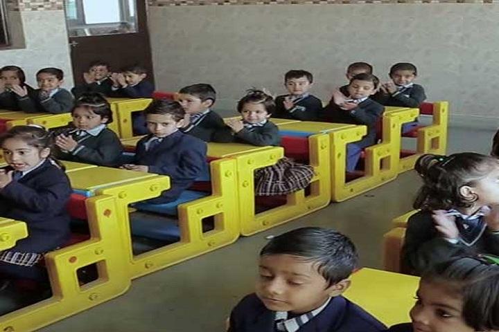 Adi Sankaracharya Convent Pulbic School-Classroom