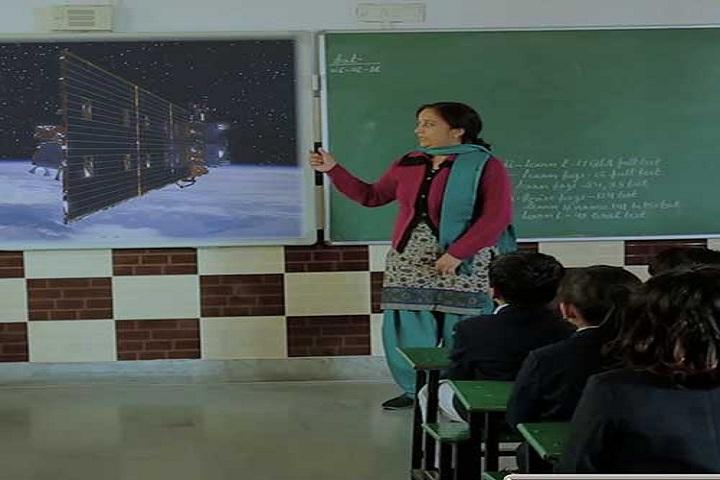 Adi Sankaracharya Convent Pulbic School-Smart Classroom