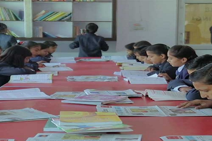 Adi Sankaracharya Convent Pulbic School-Library