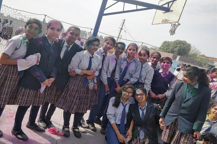 Adi Sankaracharya Convent Pulbic School-Holi Celebrations