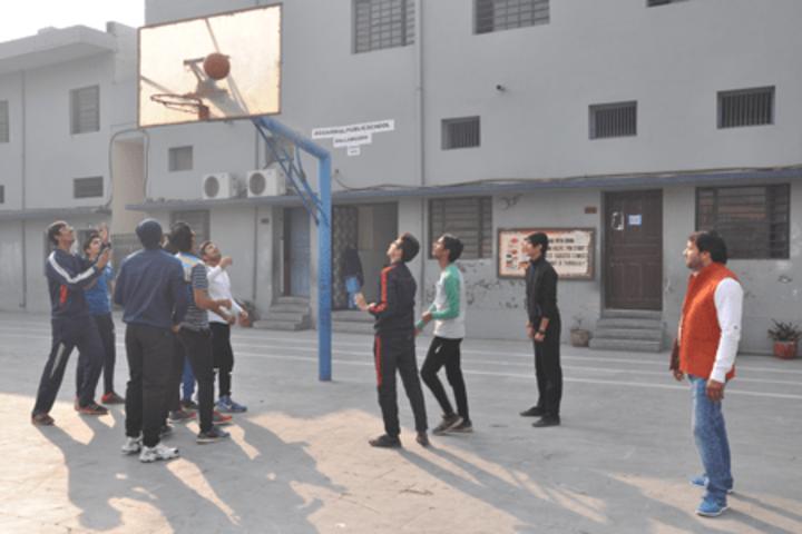 Aggarwal Public School-Basketball Court