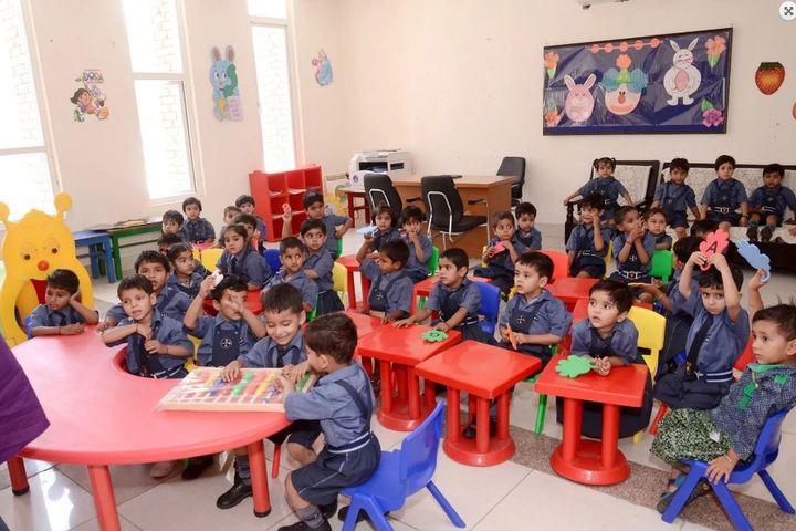Aggarwal Public School-Kindergarten Classroom