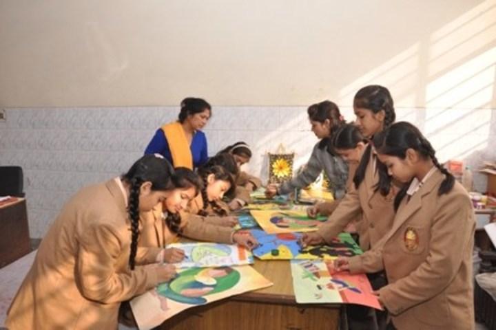Aggarwal Public School-Posture Making