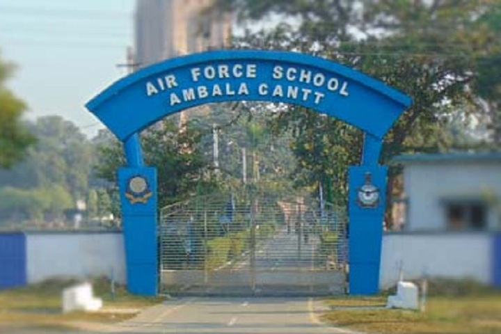 Air Force School-Entrances