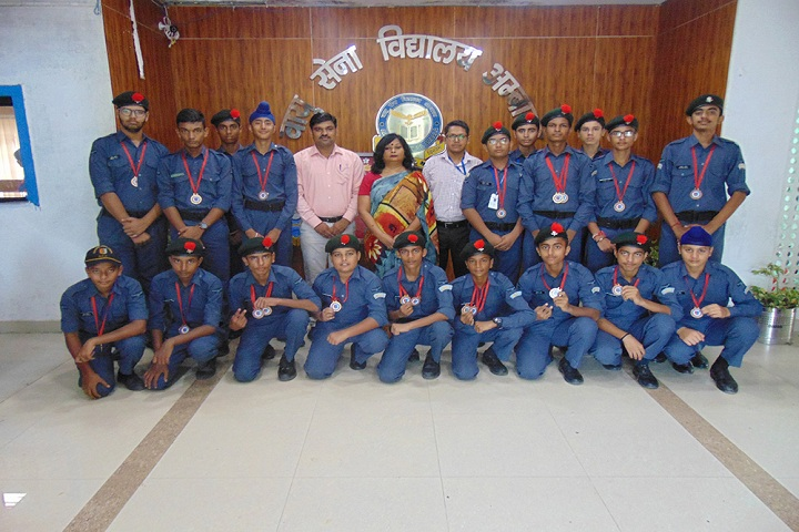 Air Force School-NCC Scouts  Guides