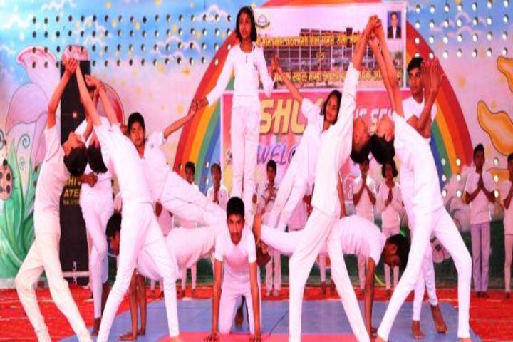 Aishly Public School-Human Pyramid