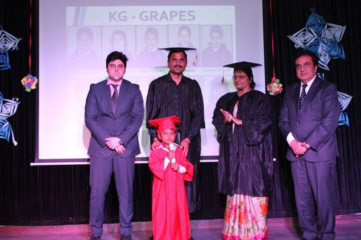 Ajanta Public School-Graduation Day