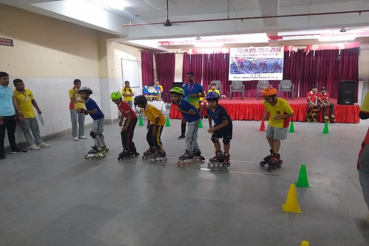 Ajanta Public School-Skating