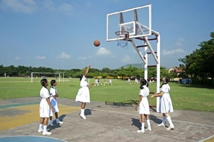 Al Hasan School-Sports basketball