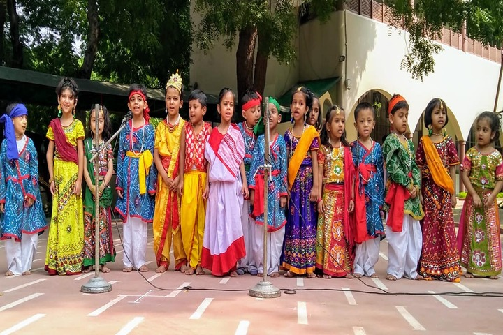 American Montessori Public School-Janmastami Celebrations