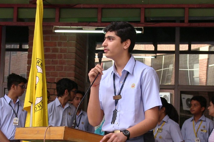 Amity International School-student