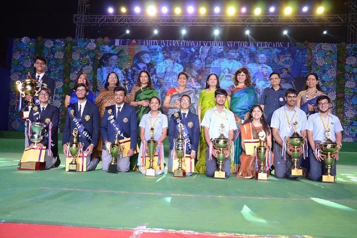Amity International School-award ceremony
