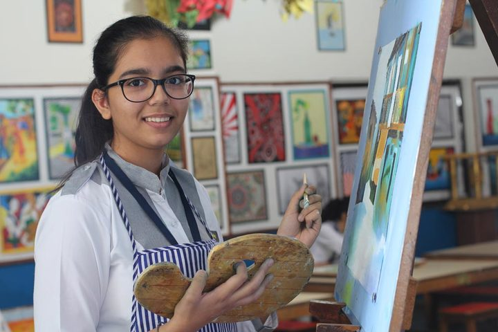 Amity International School-Art Exhibition
