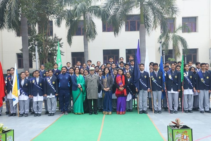 Amity International School-Investiture Ceremony
